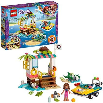 LEGO Friends - Missão de Resgate de Tartarugas