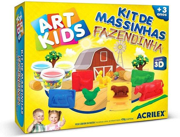 Kit de Massinhas Fazendinha Acrilex
