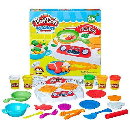 Conjunto Massinha Play-Doh Criações No Fogão Hasbro