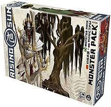 Rising Sun: Monster Pack. Galápagos Jogos