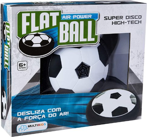 Flat Ball Air Power BR371 Multikids Preto/Branco