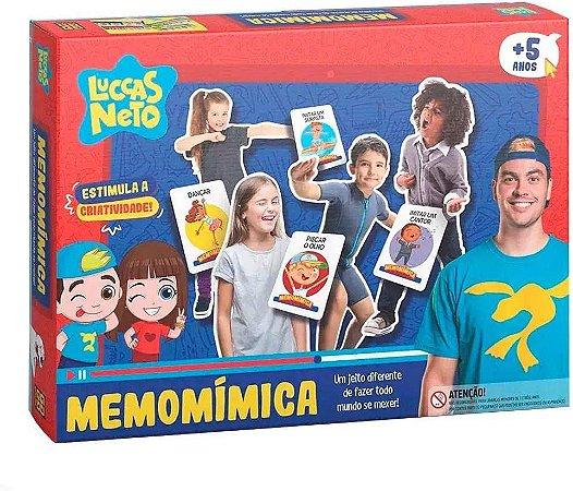 Jogo Luccas Neto Memomimica Grow