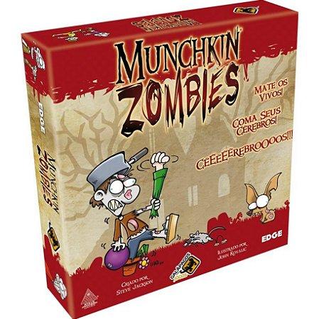 Munchkin Zombies - Galápagos Jogos