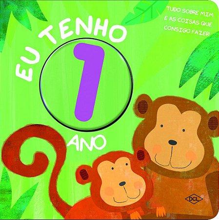 Livrinho dos Números. Eu Tenho 1 Ano (Português) Capa dura
