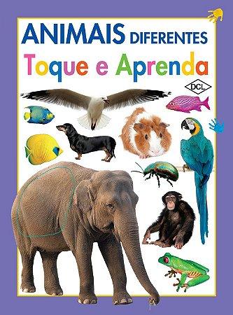 Toque e Aprenda. Animais Diferentes (Português) Capa dura