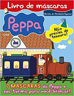 Peppa Pig: Livro de Máscaras (Português) Capa comum