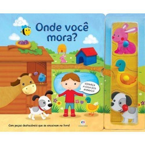 Bloco Animal. Onde Você Mora? (Português) Capa dura