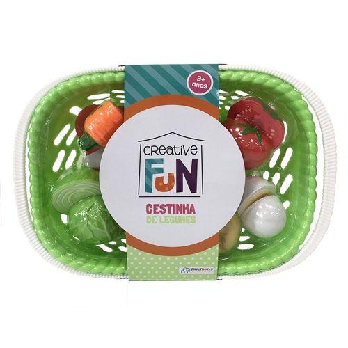 Creative Fun Cestinhas de 6 Legumes Indicado para +3 Anos Multikids - BR1113