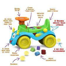 Veículo Para Bebê, Cardoso Toys, Totokinha Bolinha, Menino