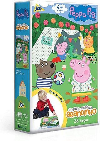 Peppa Pig - Quebra-cabeça 28 peças grandinho