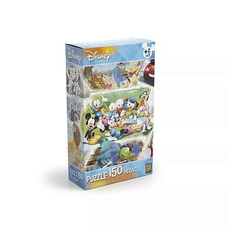 Quebra Cabeça 150 Peças Disney Grow