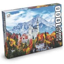 Quebra-Cabeça 1000 PeçasGrow - Castelo de Neuschwanstein