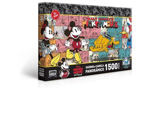 Turma do Mickey - Quebra-cabeça 1.500 peças
