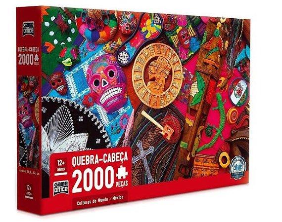 Quebra-Cabeça Culturas do Mundo - México 2000 Peças