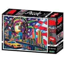 Quebra Cabeça Super 3D New York City C/500 Peças BR1055