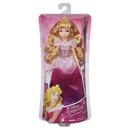 Boneca Princesas Disney Classica Aurora Hasbro