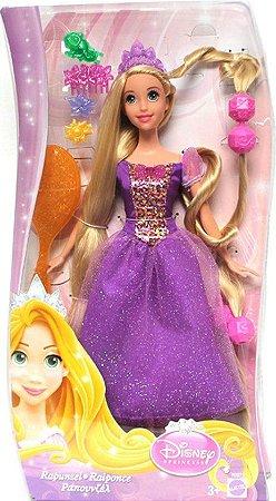 Boneca Mattel Rapunzel Jogue Seus Cabelos - Princesas Disney