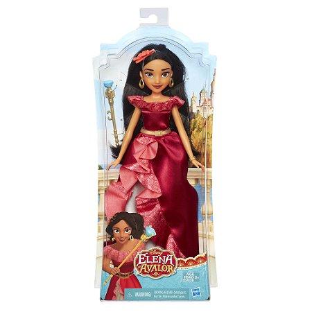 Boneca Elena de Avalor Vestido de Luxo Hasbro Vermelho