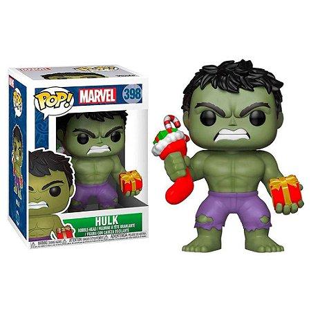 Funko - Hulk with Presents 398