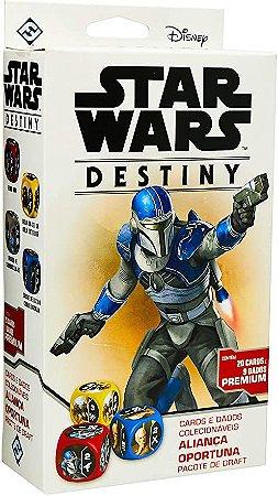Star Wars Destiny - Aliança Oportuna Galápagos Jogos, Multicor