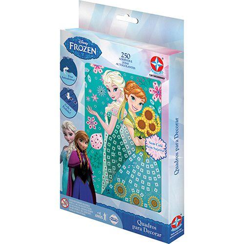 Jogo Quadro para Decorar Frozen Brinquedos Estrela