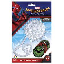 Americanas Teia Pega Pega - Spider Man