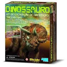 Kit De Escavação - Triceraptor - 3D Comex