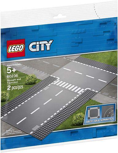 Lego City Reta E Entroncamento 60236 Lego Diversas