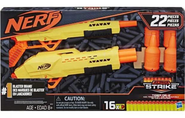 Nerf Lanca Dardos Nerf Alphastrike Tiger Com Target - E8313 - Hasbro  Lanca Dardos Nerf Alphastrike Tiger Com Target Ama
