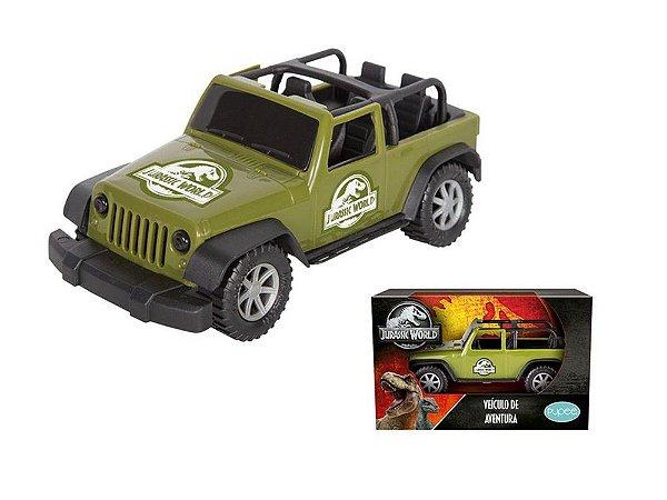 Veículo de Roda Livre - Jurassic World - Jeep - Pupee