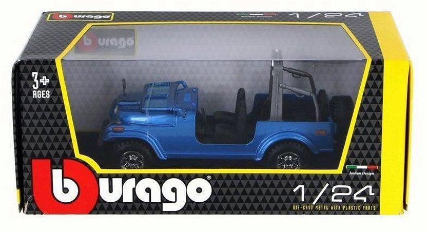 Miniatura Jeep Wrangler Bburago 1:24