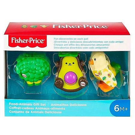 Conjunto de Animais Deliciosos, Fisher Price, Multicolorido, GNL81, Mattel