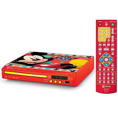 DVD Player Compacto - Disney Mickey - TecToy