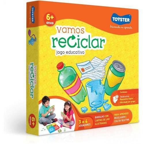 Vamos Reciclar Toyster Brinquedos