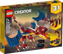 LEGO Creator - Dragão de Fogo - 31102