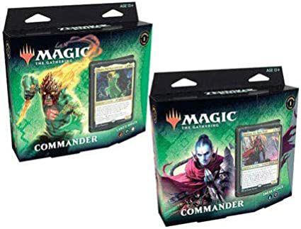 2 Decks Magic: The Gathering Commander Renascer de Zendikar