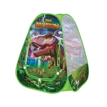 Barraca Toca Infantil Instantânea do Dinossauro T-rex - Braskit