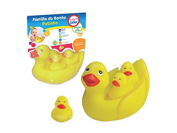 Família do Banho - Patinho, Lider Brinquedos