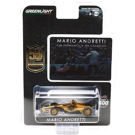 Miniatura - 1:64 - Mario Andretti - Indy 500 - Indycar- Greenlight