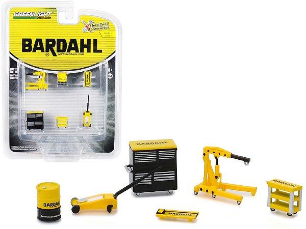 Set: Shop Tools - Ferramentas e Acessórios - Bardahl - Série 1 - 1:64 - Greenlight Ref.: 16020-A
