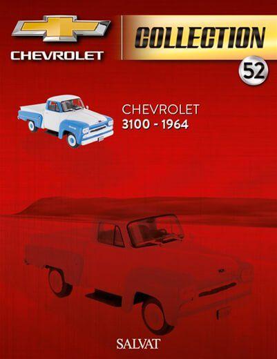 Coleção Chevrolet Collection Ed 52 3100 Picape 1964