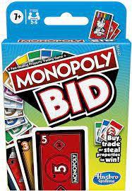 Jogo Hasbro Gaming Monopoly Bid