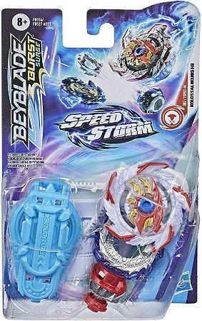 Beyblade Burst Surge - Pião Speedstorm com Lançador - Kolossal Helios H6 F0554