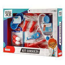 Kit Médico Brinquedo Infantil Consulta Multikids Br959