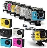Câmera esporte de Ação A7 Câmera Mini Câmera ir À Prova D' Água com caso Subaquática 720 P 2.0 'LCD Ângulo de Visão 90 graus 1280*720 30fps