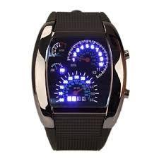 Retroiluminação LED militar Digital de pulso de quartzo relógio de pulso Sports medidor Dial HB88