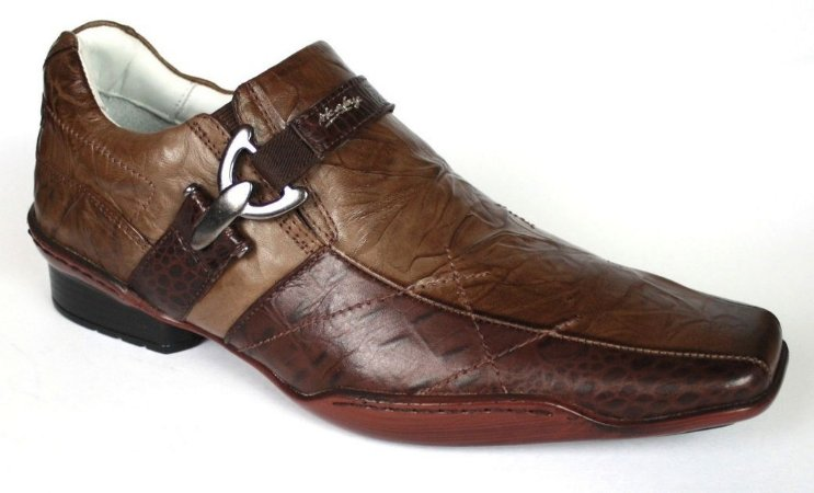 Sapato Masculino Taurus Couro Natural Alcalay Calçados