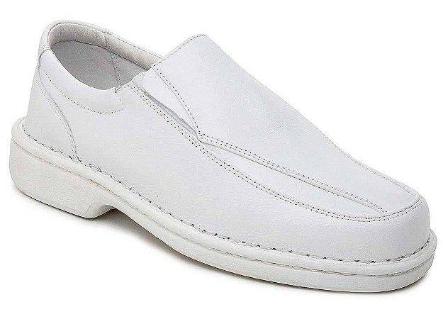Sapato Masculino Branco palmilha Gel Ranster