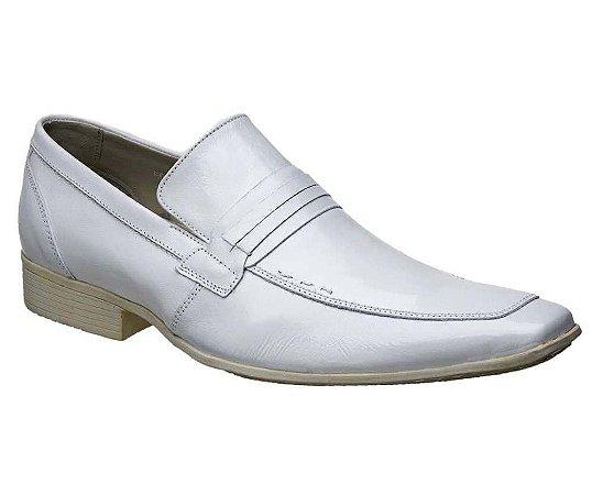 Sapato Branco Masculino Couro Bigioni