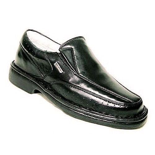 Sapato Confortável Masculino Preto ou Marrom Tamanhos 45 46 47
